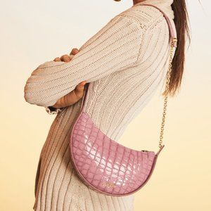 Caia Gaia Nadia Shoulder Bag - Muberry